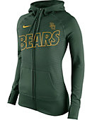 Nike Baylor University Women's Full-Zip Hooded Sweatshirt