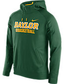 Nike Baylor University Basketball Hooded Sweatshirt