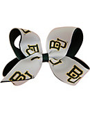 Baylor University Child 2-Toned Hairbow