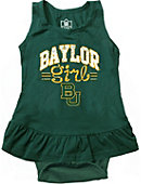 Baylor University Infant Girls' Ruffle Bodysuit