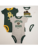 Baylor University Infant Creeper Set of 3