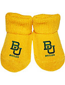 Baylor University Baby Booties