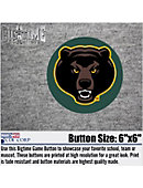 Baylor University Bears Beat Everyone 6 in. Button