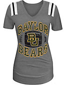 Baylor University Women's Triblend V-Neck T-Shirt