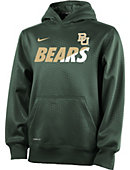 Nike Baylor University Youth Hooded Sweatshirt