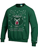Baylor University Bears Ugly Sweater Crewneck Sweatshirt