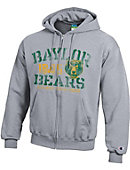 1607F Baylor University Full-Zip Hooded Sweatshirt