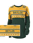 Baylor University Women's Long Sleeve Ugly Sweater Ra Ra Shirt