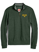 1608H Baylor University Tri-Blend Collegiate 1/4 Zip