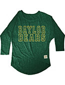 Baylor University Youth Girl's 3/4 Sleeve Shirt