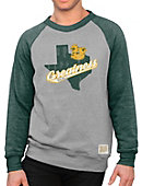 1608C Baylor University Raglan Long Sleeve Crew