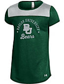 1612H Baylor University Girls' Grainy Short Sleeve T-Shirt