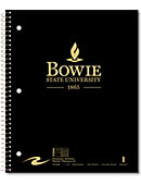 Bowie State University Notebook 100-Sheet