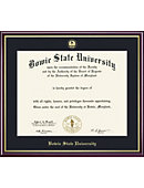 Bowie State University 11'' x 14'' Value Price Scholastic Diploma Frame