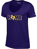 Hardin-Simmons University Cowboys Women's V-Neck T-Shirt