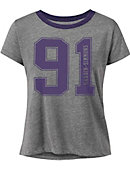 Hardin-Simmons University Women's Cropped Short Sleeve T-Shirt