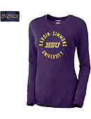 Hardin-Simmons University Women's Relaxed Fit Long Sleeve T-Shirt