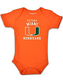 University of Miami Infant Bodysuit