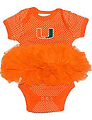 University of Miami Infant Girls' Bodysuit Tutu