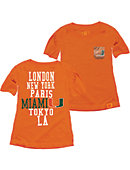 University of Miami Youth Girls' Short Sleeve T-Shirt