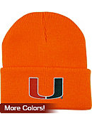 University of Miami Infant Knit Cuffed Hat