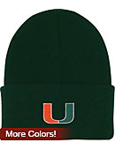 University of Miami Youth Knit Hat