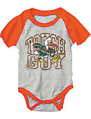 University of Miami Infant Raglan Bodysuit