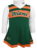 University of Miami Toddler Girls' Jumper Cheer Set