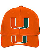 University of Miami Youth Adjustable Cap