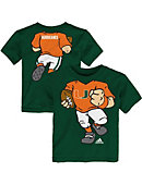 University of Miami Toddler Boys' Short Sleeve Football T-Shirt
