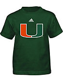 University of Miami Boy's Short Sleeve T-Shirt