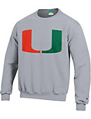 University of Miami Youth Crewneck Sweatshirt