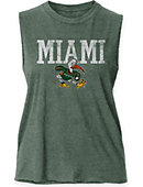 University of Miami Hurricanes Women's Muscle Tank Top