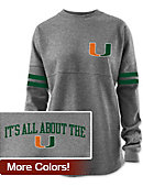 University of Miami Hurricanes Women's Victory Springs Ra Ra Long Sleeve T-Shirt