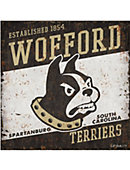 Wofford College Vintage Tin Sign