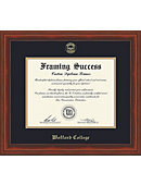Wofford College Millenium Diploma Frame -ONLINE ONLY