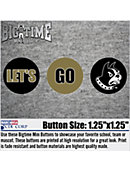 Wofford College Let's Go Terriers 3-Pack Mini Button