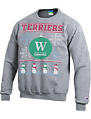 Wofford College Ugly Sweater Crewneck Sweatshirt