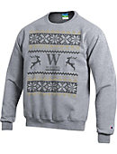 Wofford College Ugly Christmas Sweater Powerblend Crewneck Sweatshirt