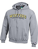 Wofford College Terriers Full Zip Hooded Sweatshirt