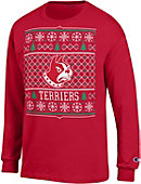 Wofford College Terriers Ugly Christmas Sweater Long Sleeve T-Shirt