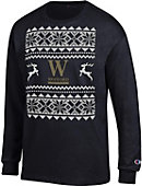 Wofford College Ugly Christmas Sweater Long Sleeve T-Shirt