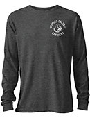 Wofford College Tri-blend Twisted Long Sleeve T-Shirt