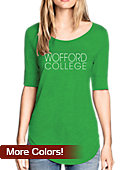 Wofford College Women's 3/4 Length Sleeve T-Shirt