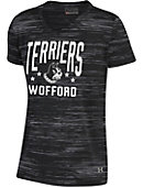 Under Armour Wofford College Terriers Girls' V-Neck T-Shirt