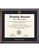 Wofford College 8.5'' x 11'' Value Price Scholastic Diploma Frame