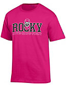 Rocky Mountain College Bears Breast Cancer Awareness Ribbon T-Shirt
