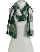 Rocky Mountain College Plaid Scarf