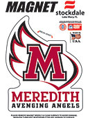 Meredith College Avenging Angels 4''x4'' Magnet