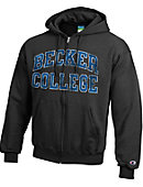 Becker College Hawks Full-Zip Hooded Sweatshirt